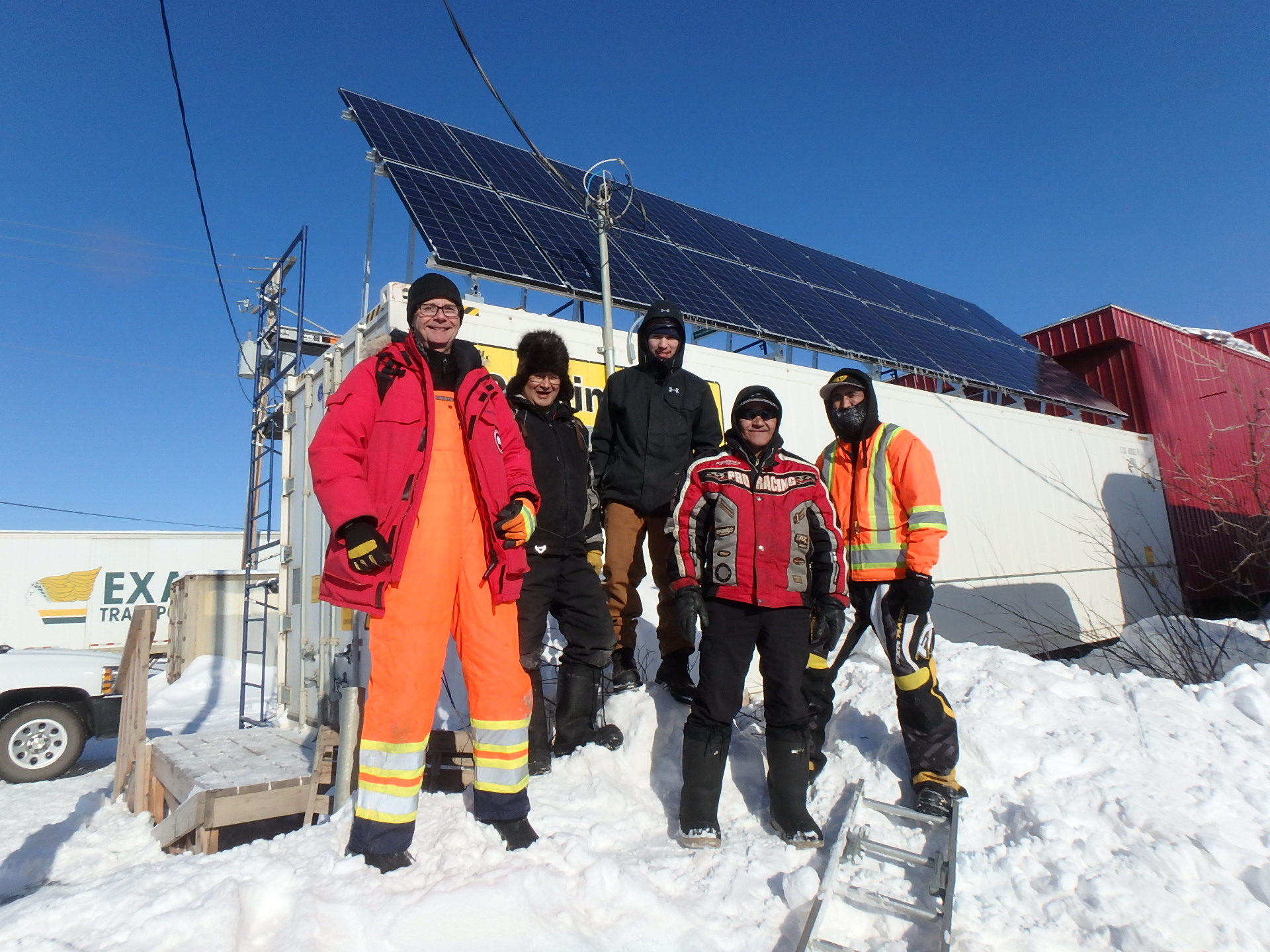 New 5 Kw Net Metering System In Inuvik Nt Ret Center