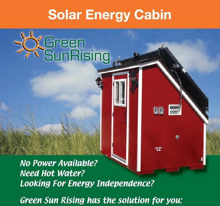 Solar Energy Cabin